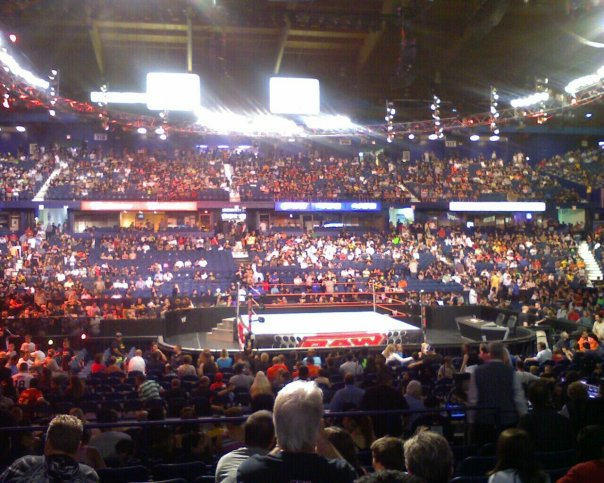 Wwe Raw At Allstate Arena Have Game Will Travel