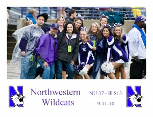 Ultimate Sports Wife as Honorary Northwestern Coach