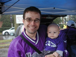 Ultimate Sports Baby's 1st Northwestern Football Game
