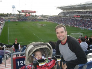Ultimate Sports Baby Yawns at Chicago Fire