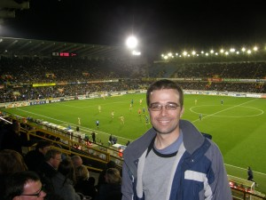 Europa League at Jan Breydel Stadion