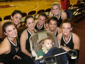 Ultimate Sports Baby with Loyola Cheerleaders