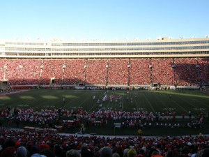 Camp Randall: Northwestern at Wisconsin