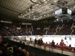 Hovet Arena in Stockholm, Sweden