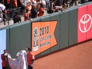 San Francisco Giants World Series Championship Ceremony
