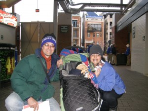 Ultimate Sports Family at Wrigley Field