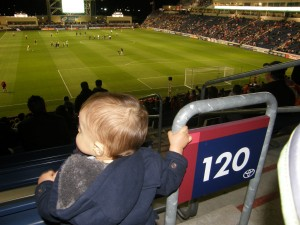 Ultimate Sports Baby Walks at Toyota Park