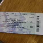 AFC Championship: Jets at Colts