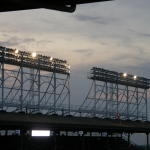 Blackout at Wrigley Field: Dodgers at Cubs