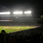 First Rain Delay of the Season: Athletics at Cubs