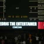 Cedric the Entertainer: Athletics at Cubs