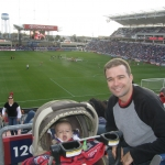 Ultimate Sports Baby Attends 1st Soccer Match