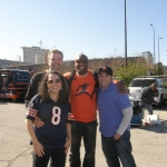 Jarrett Payton at Tailgate: Seahawks at Bears