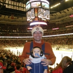 Ultimate Sports Baby attends First NHL Game