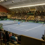 Saturday Davis Cup in Borås, Sweden