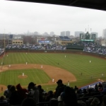 A Wet MLB Opening Day: Pirates at Cubs