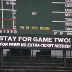 The Cubs Screw Fans with Day-Night Doubleheader
